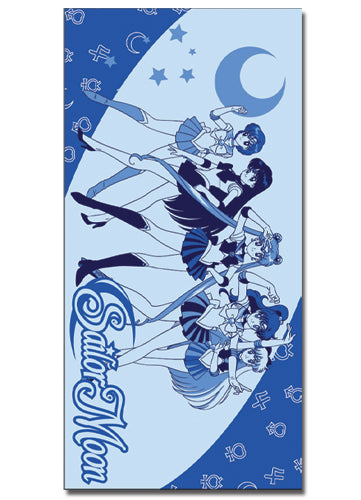 Sailor Moon Sailor Soldier Full Sized Beach Towel