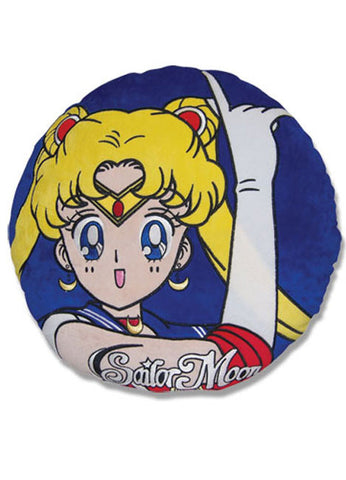 Sailor moon Round Throw Pillow