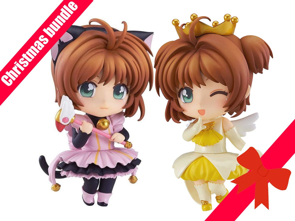 ANIME CHRISTMAS BUNDLE Card Captor Sakura Kuroneko Maid and Sakura Angel Crown