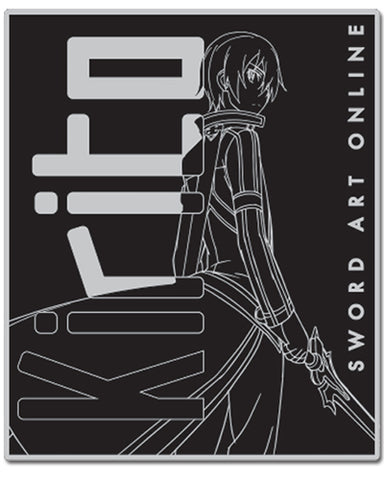 Sword Art Online Kirito Throw Blanket