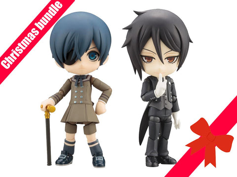 "CHRISTMAS BUNDLE ""Black Butler"" Sebastian and Ciel Cu-Poche 30 and 38"