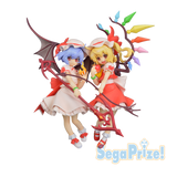 Touhou Project Sega Premium Figure Set Flandre and Remilia Scarlet