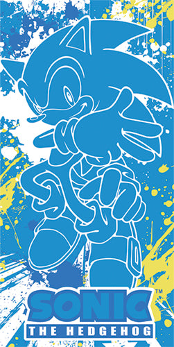 Sonic The Hedgehog Full Sized Beach Towel