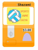 Sports Anime Virtual Gacha Machine