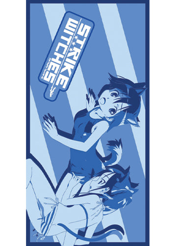 STRIKE WITCHES YOSHIKA & FRANCESCA Towel