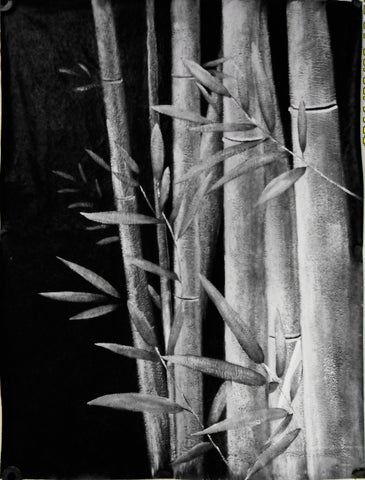 Bamboo07 Oil Painting Canvas Art
