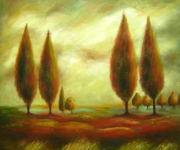 Landscape painting 1009 Oil Painting Canvas Art