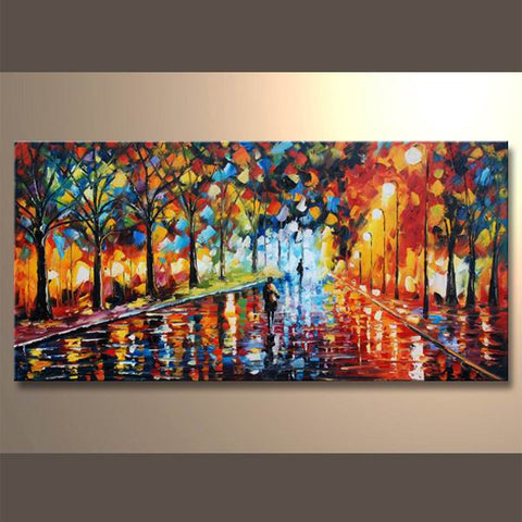 MDFJ-1327 Oil Painting Canvas Art