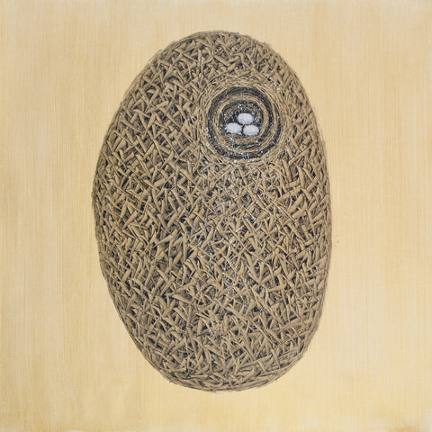 Incubation - Nest Series Oil Painting Canvas Art