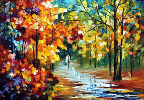 Scenery 1 Oil Painting Canvas Art