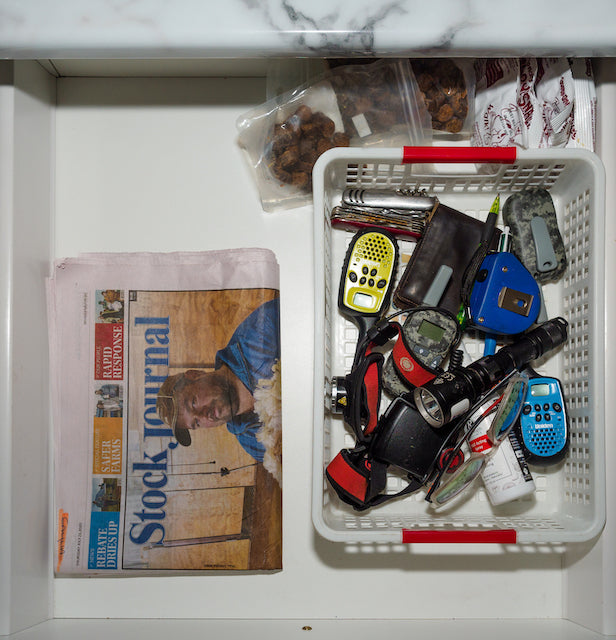 declutter your home organised drawer