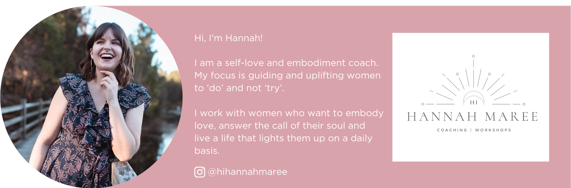 Hannah Maree Self Love Coach