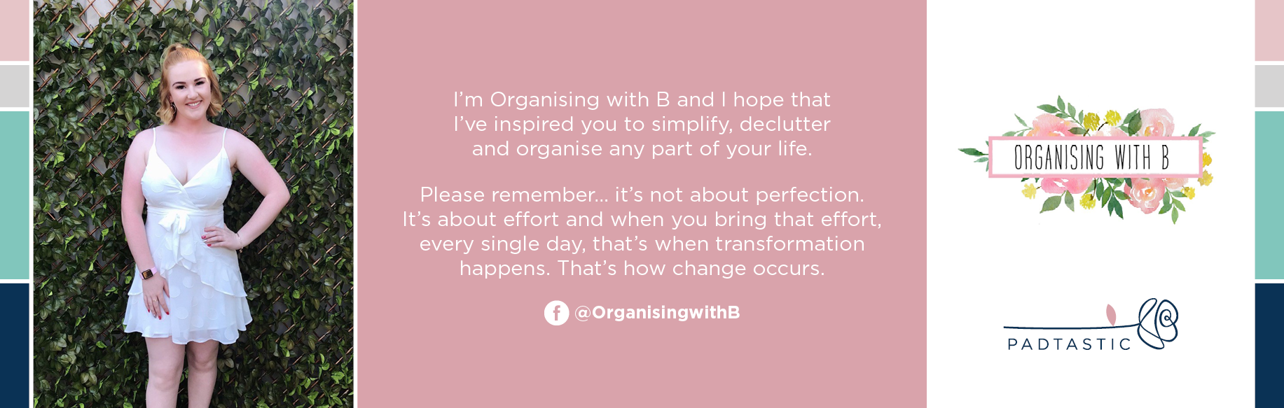 Achieve your dream Organising with B