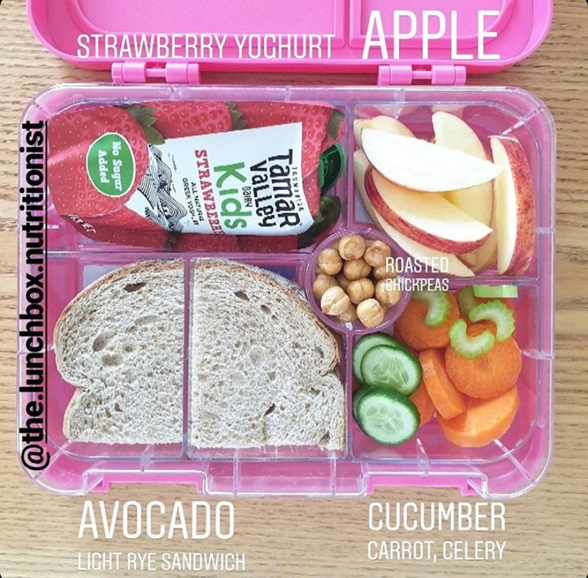 Pack a healthy nutritious lunch for school children
