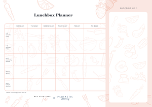 HNK Lunchbox Planner - Quick Shop