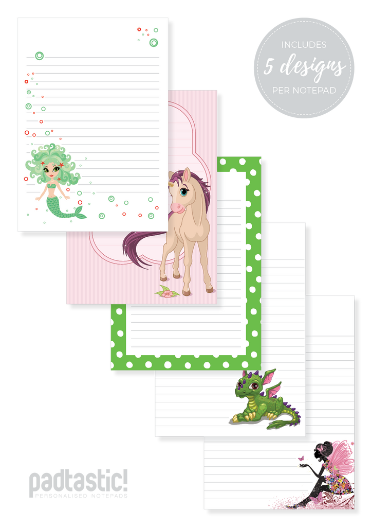 Mythical Mixed Design Notepad