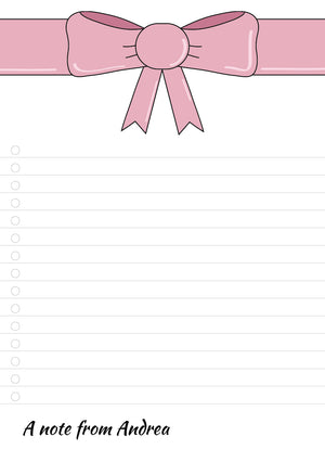 Pink Bow_A5 [CL]