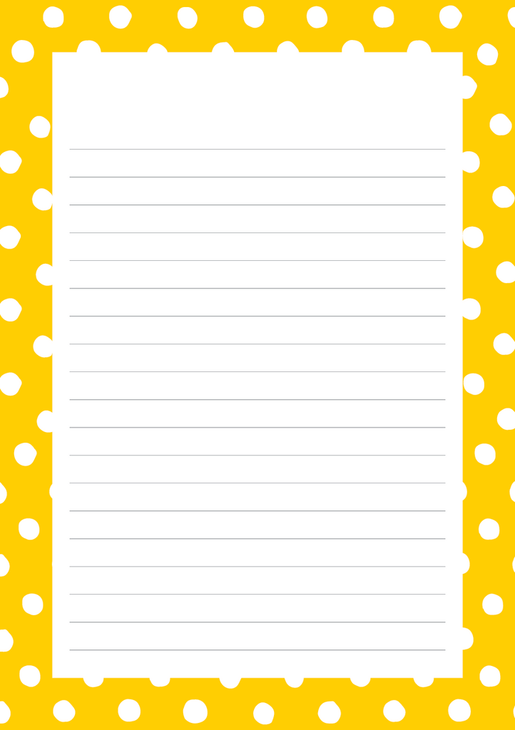 Bold & Bright Mixed Design Notepad