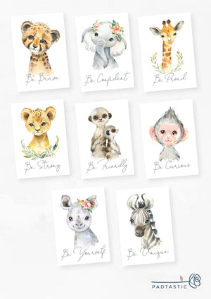 African Animals_Postcards