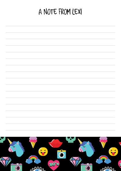 The Goal Keeper Notepad - Retro - Black - A5