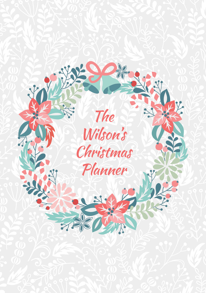 Christmas Wreath - Notebook
