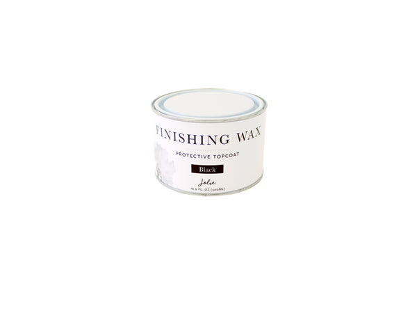 Jolie Finishing Wax: Black
