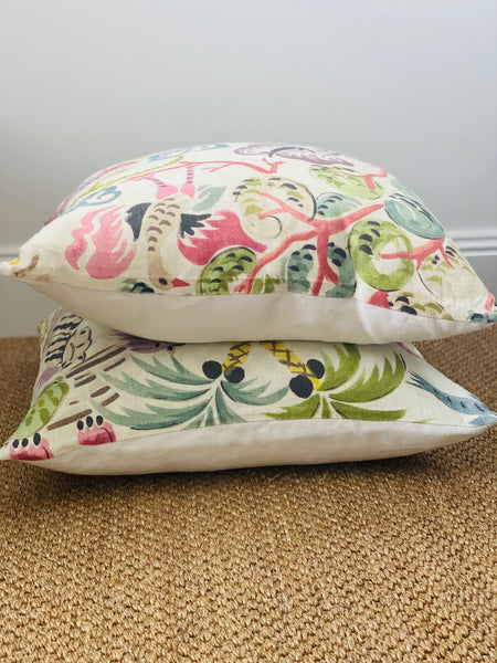 Clarence House Congo Multi Cushion