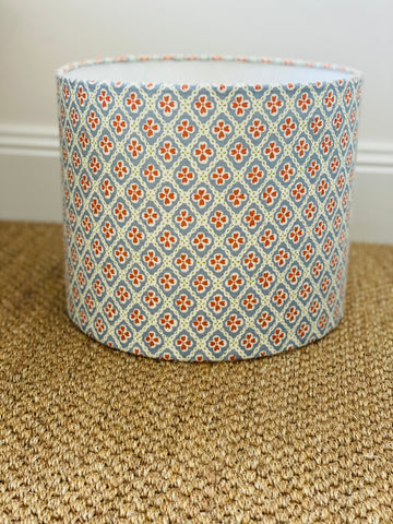 Anna Spiro Textiles Paniola Multi Light Blue/Pumpkin/Light Green Lampshade