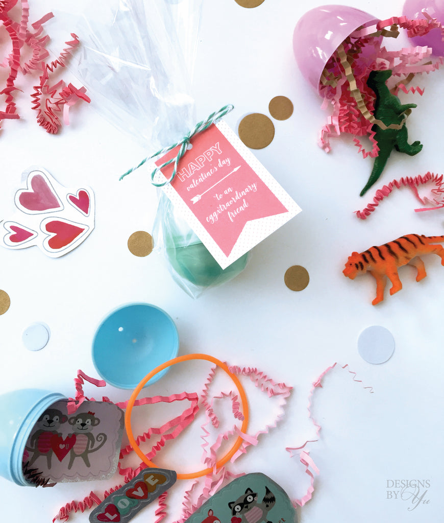 FREE Valentine's Day Printable - Eggxtraordinary Friend