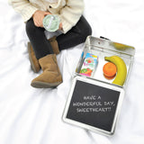 Personalized Tin Lunch Box - Penguin