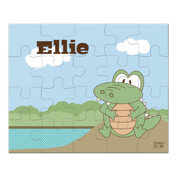 Personalized Puzzle - Alligator