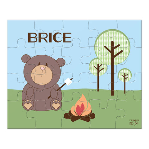 Personalized Puzzle - Bear