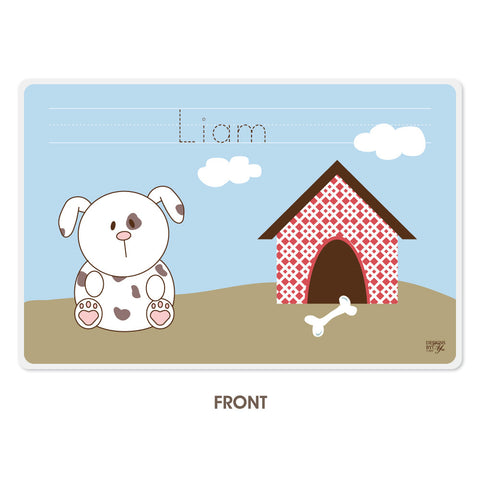 Personalized Kids Placemat - Dog