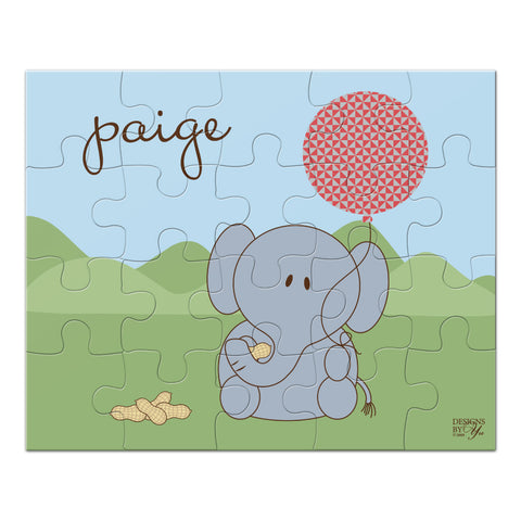 Personalized Puzzle - Elephant