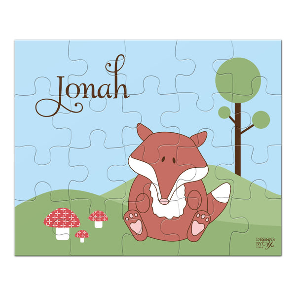 Personalized Puzzle - Fox