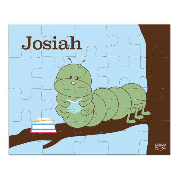 Personalized Puzzle - Inchworm