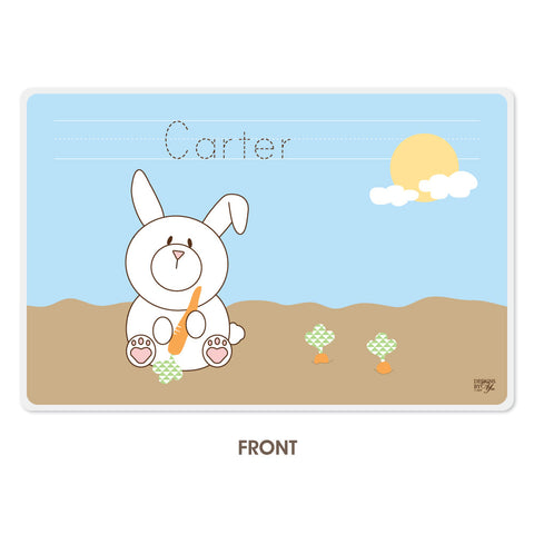 Personalized Kids Placemat - Jack Rabbit