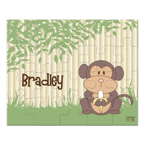 Personalized Puzzle - Monkey