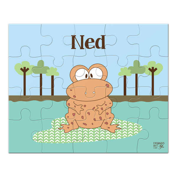 Personalized Puzzle - Newt