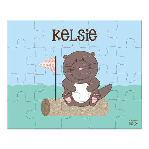 Personalized Puzzle - Otter