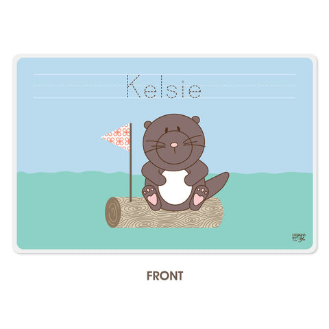 Personalized Kids Placemat - Otter