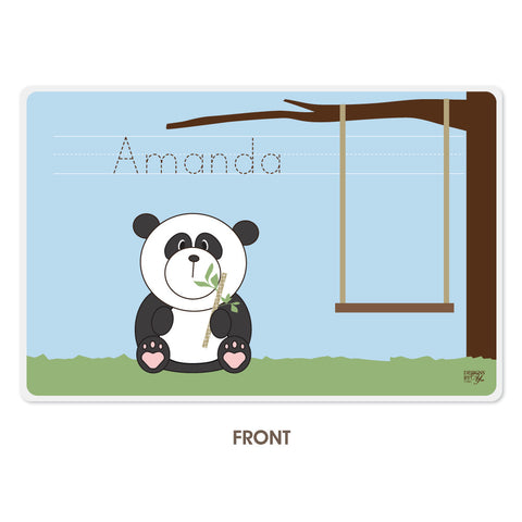 Personalized Kids Placemat - Panda