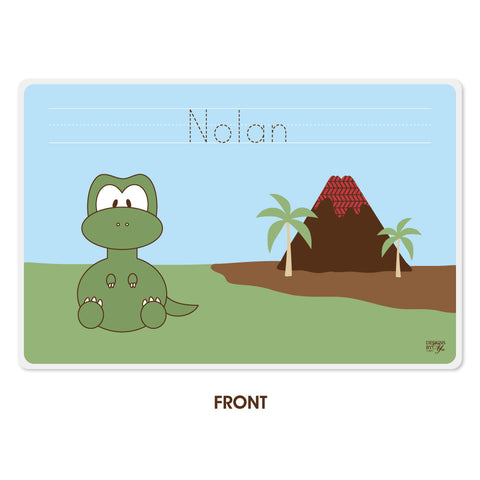 Personalized Kids Placemat - T. Rex