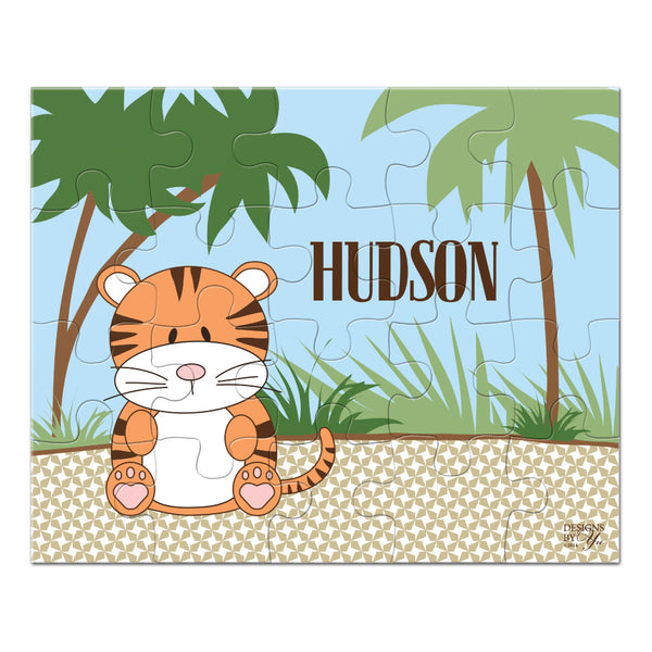 Personalized Puzzle - Tiger