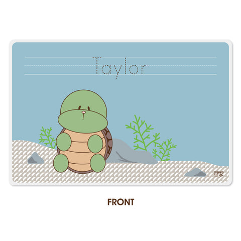 Personalized Kids Placemat - Turtle
