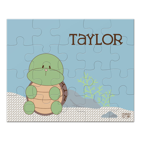 Personalized Puzzle - Turtle
