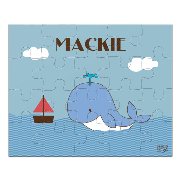 Personalized Puzzle - Whale