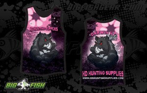 HD Hunting Supplies - PINK Singlets - HD Hunting Supplies - 1