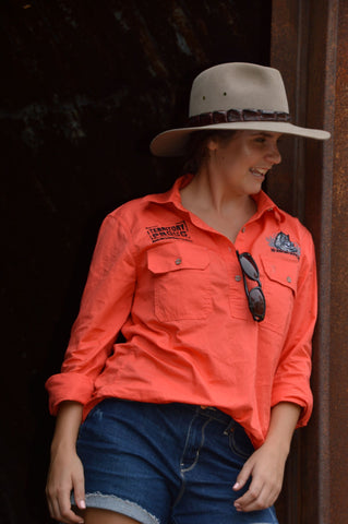 HD Pilbara Work Shirt - Womens