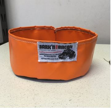 PVC TRAVEL DOG WATER BOWL